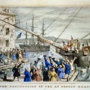 ボストン茶会事件(アメリカは何故珈琲をのむようになったのか)