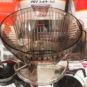 コーヒー抽出に使われるドリッパー達・メリタ式・お勧めはハリオV60