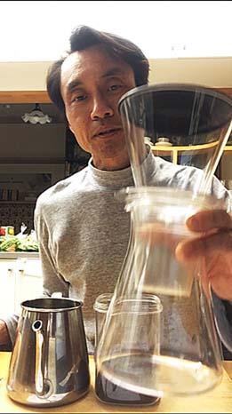 iwaki製水出し珈琲器材
